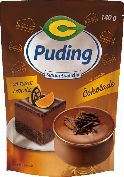 Puding za torte i kolače sa ukusom čokolade