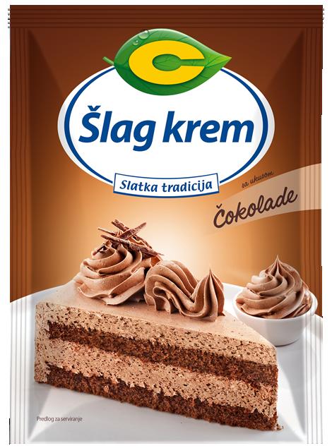 Šlag krem sa ukusom čokolade