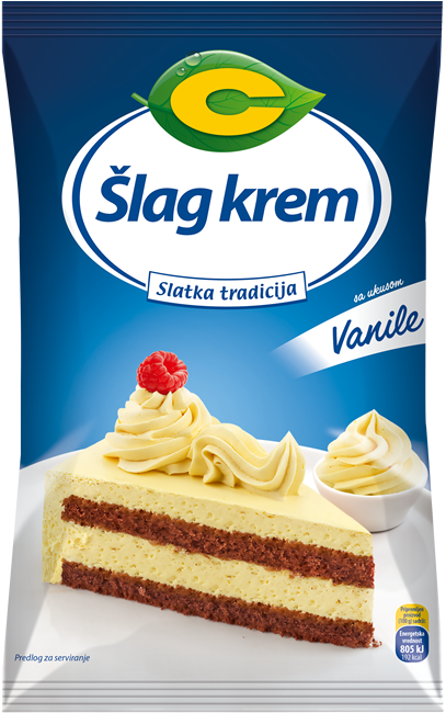 Šlag krem sa ukusom vanile