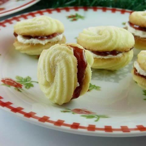 Bečki spiralni kolačići