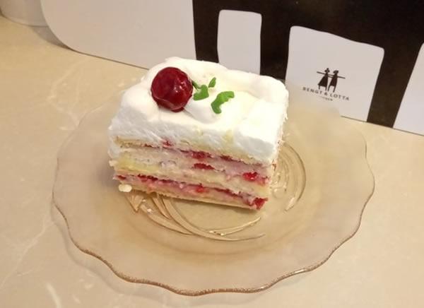 Bela voćna torta