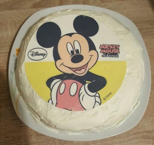 Brza lešnik torta