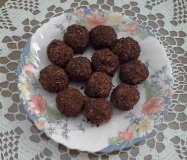 C čokoladne kuglice