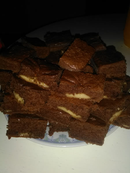 C kolač sa pudingom