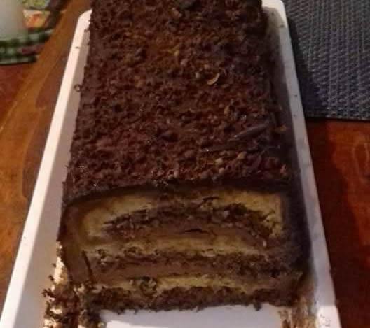 Čoko karamel torta