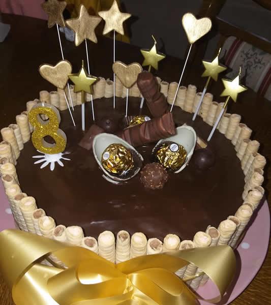 Čoko Ninina torta