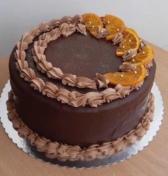 Čoko orange torta