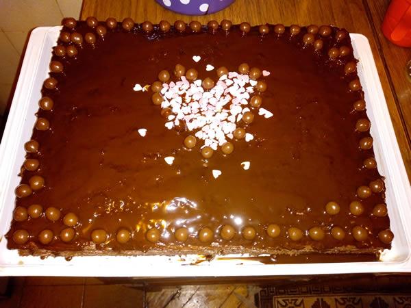 Čoko rum torta