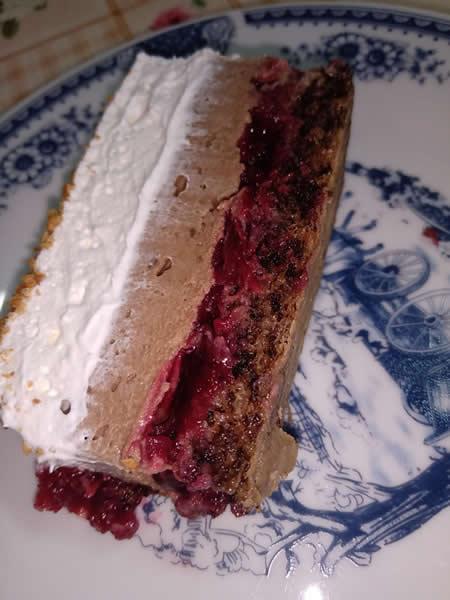Čoko-višnja torta