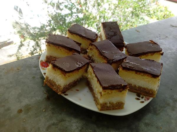 Čokoladne kokos kocke
