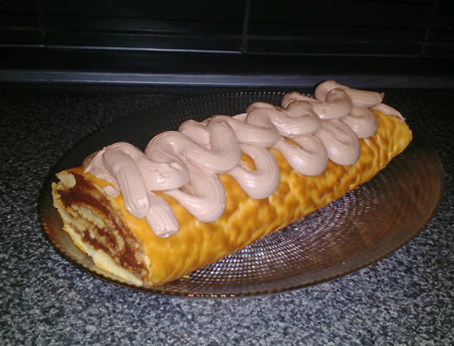 Čokoladni rolat