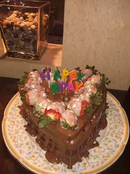 Čokoldna torta sa malinama