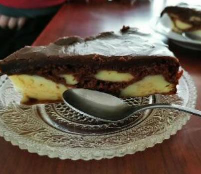 Čudo torta od dva pudinga