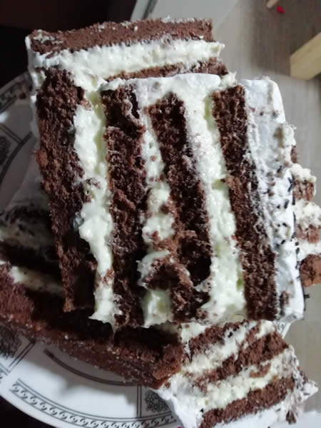 Domaća čokoladna torta