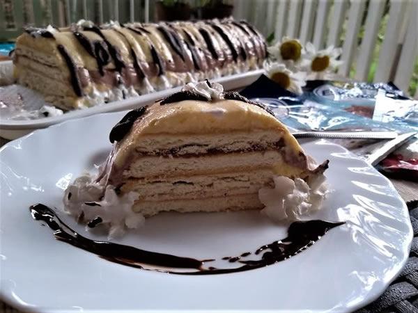 Eskimko torta sa keksom