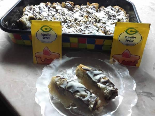 Grčka čokoladna baklava