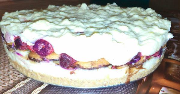 Jafa torta s malinama