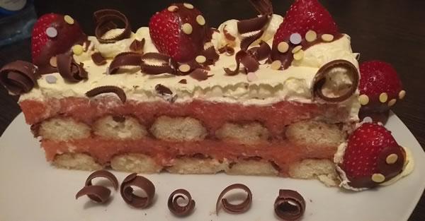 Kapri torta sa piškotama