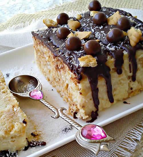 Keks torta sa kokosom