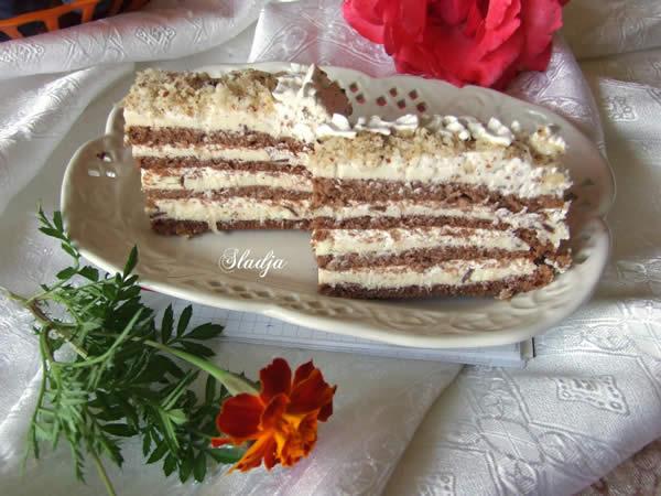 Kokos krem torta