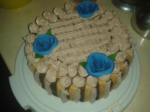 Krem torta sa piškotama i čokoladom