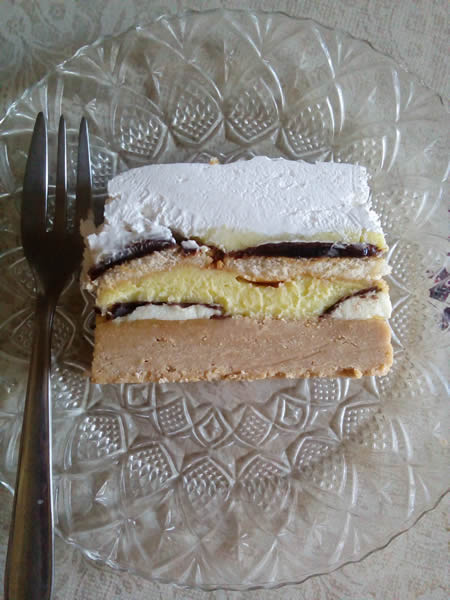 Kremasta vanil torta