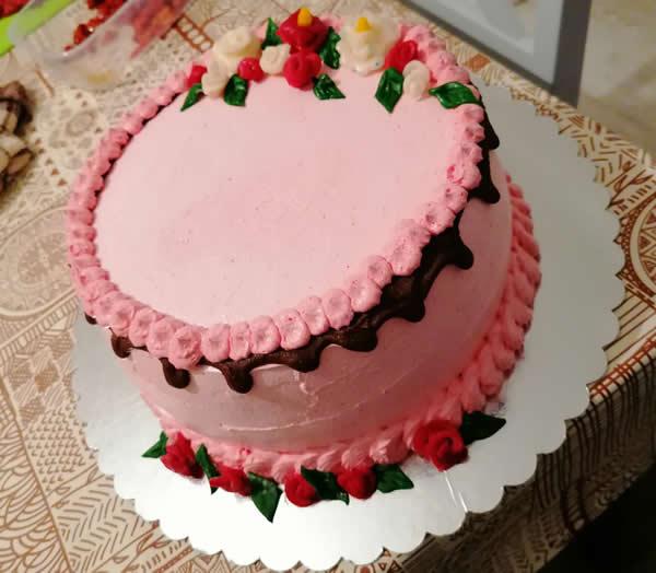 Najlepša torta sa malinama