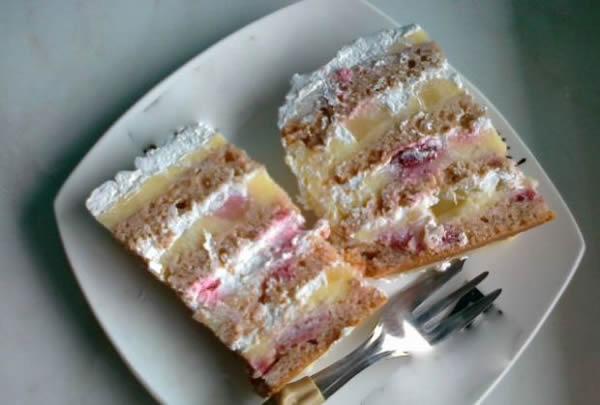 Posna Moskva šnit torta