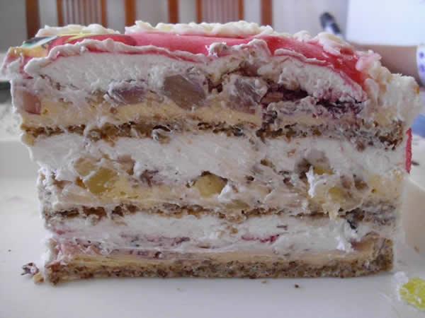 Posna Moskva torta