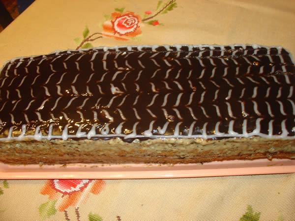 Posna orah torta