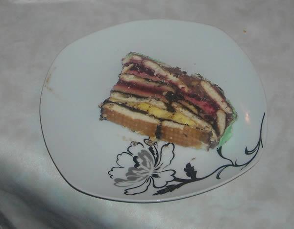 Posna torta sa malinama