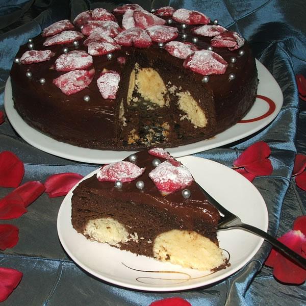Ruska čokoladna torta