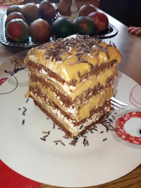 Skroz čokoladna torta