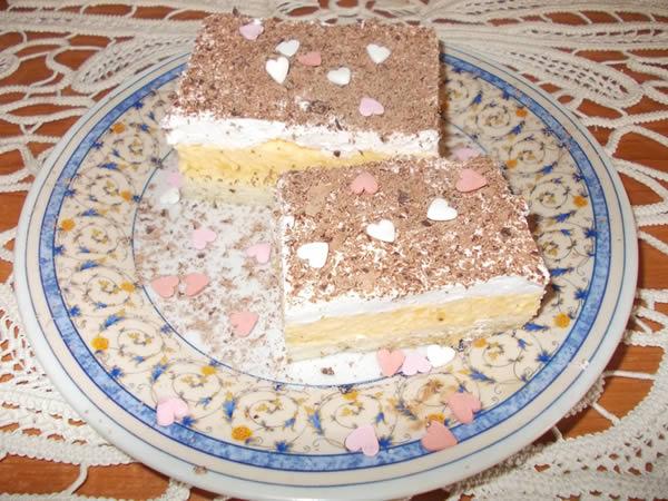 Šne nokle kolač