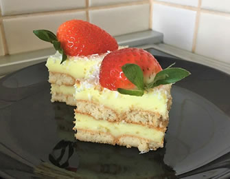 Brzi kolač sa pudingom