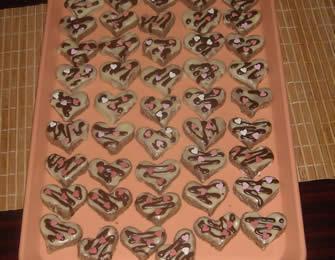 Čokoladna posna srca