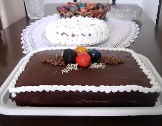 Čokoladna torta sa karamel kremom