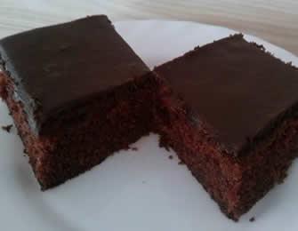 Crni kolač bez jaja