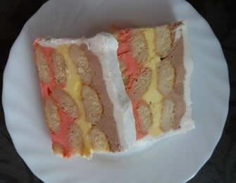 Eskimko sladoled torta