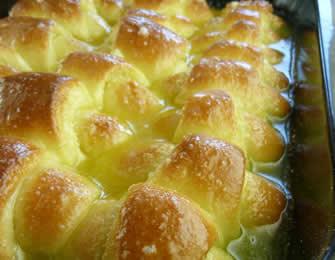 Kiflice sa kokosom i pomoranžom