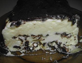 Ledeni desert sa sladoledom