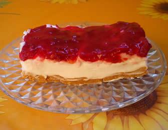Ledeni kolač sa višnjama