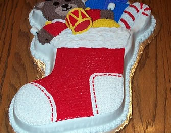 Novogodišnja pesak torta