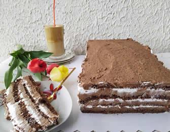 Posna čokoladna torta