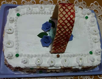 Posna korpa torta