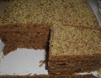 Posna torta od oraha i čokolade