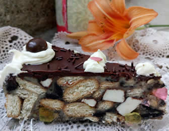 Torta od tri vrste keksa