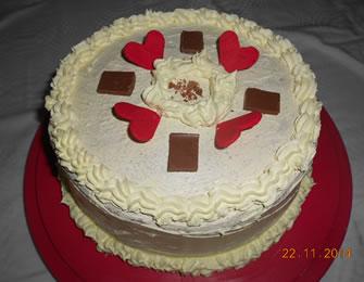 Vanila torta sa višnjama