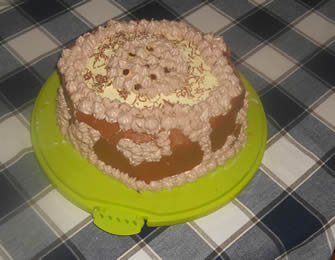 Voćna točak torta