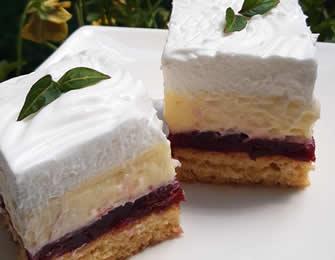 Voćni vanila kolač